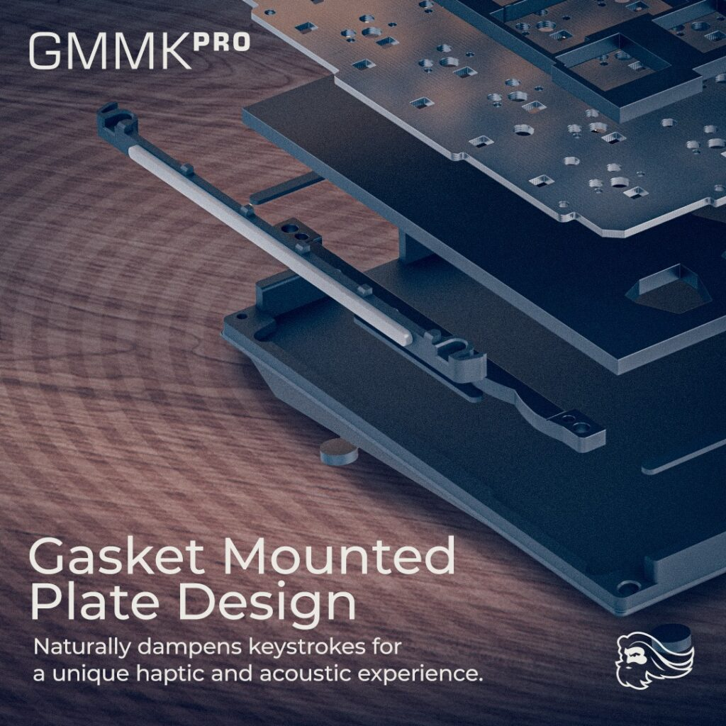 Glorious GMMK Pro Unveiled - Gasket-Mounted 75% Keyboard With Rotary Encoder And QMK/VIA Compatibility 4