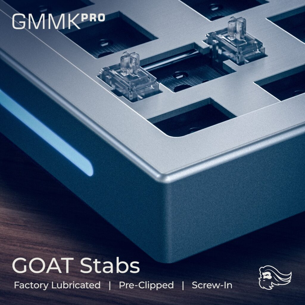 Glorious GMMK Pro Unveiled - Gasket-Mounted 75% Keyboard With Rotary Encoder And QMK/VIA Compatibility 5