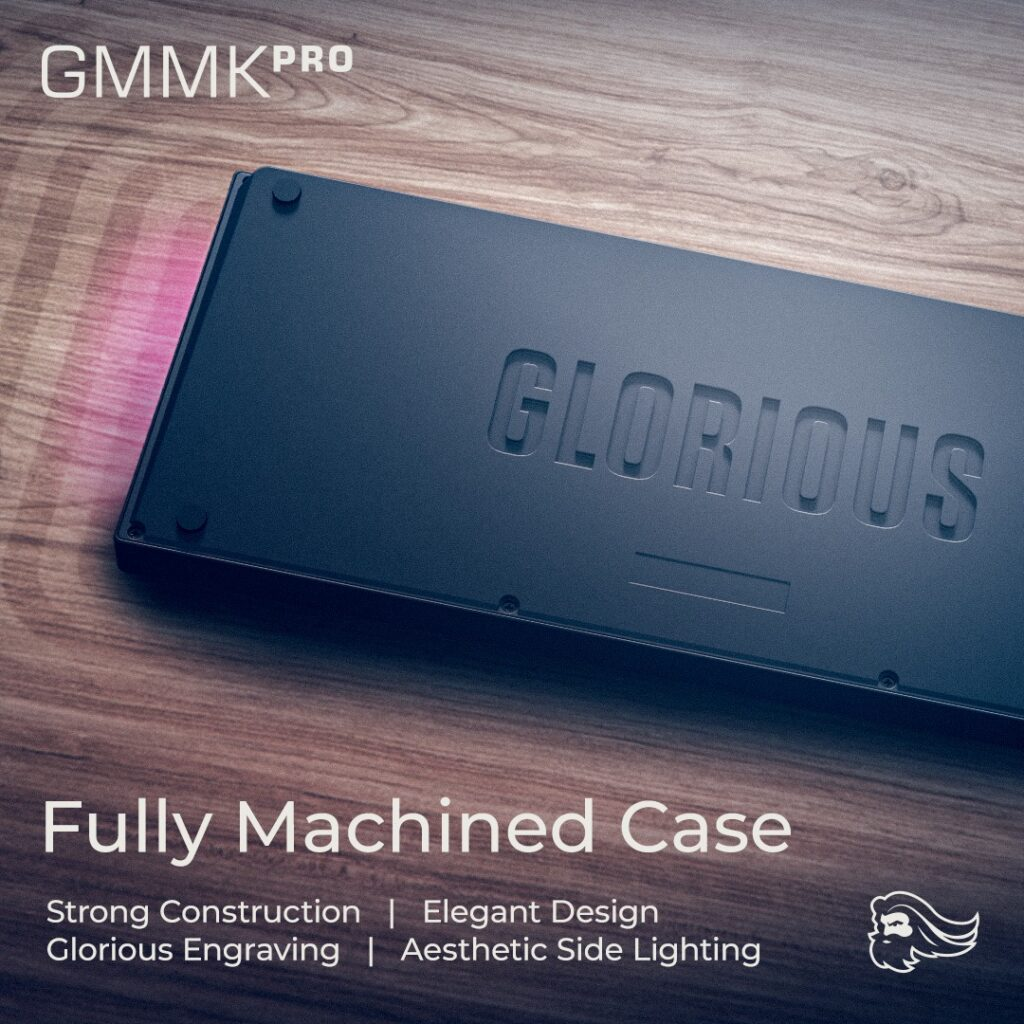 Glorious GMMK Pro Unveiled - Gasket-Mounted 75% Keyboard With Rotary Encoder And QMK/VIA Compatibility 7