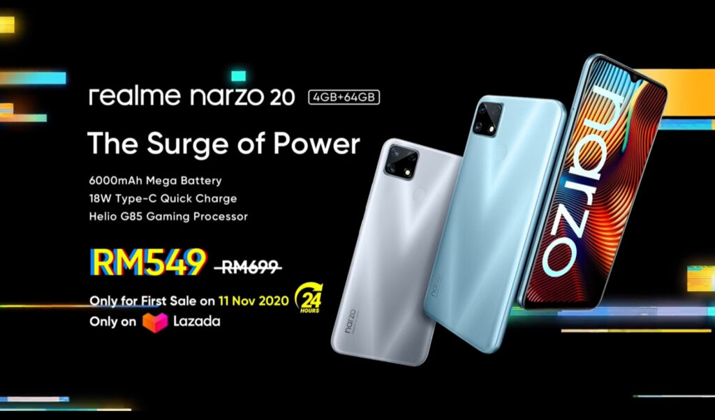 Get Up To Speed: realme narzo 20 Series 7