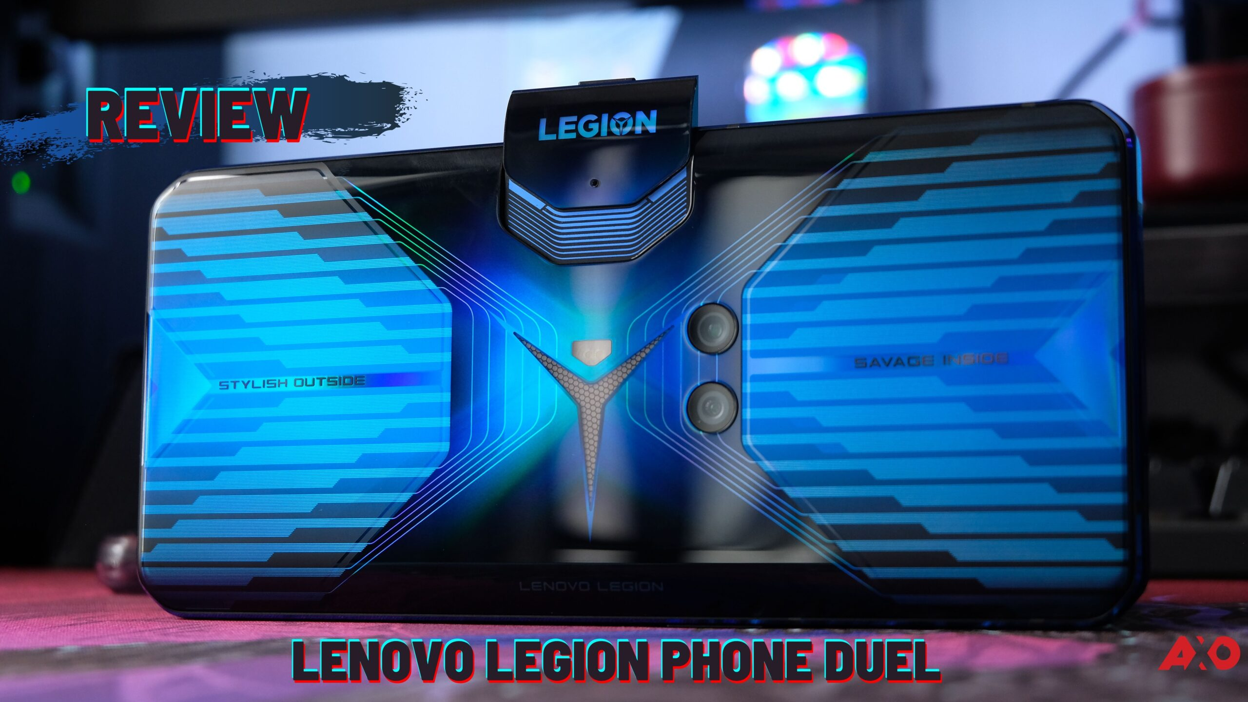 Lenovo Legion Phone Duel Review: stylish Outside, Savage Inside 9