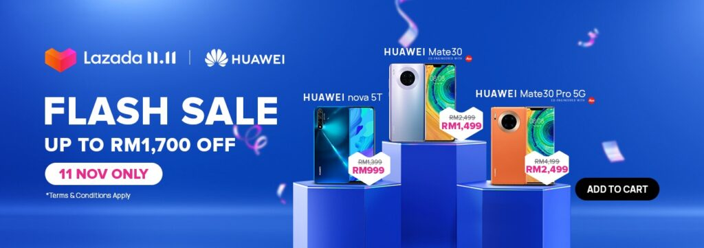 Huawei Singles Day Sale