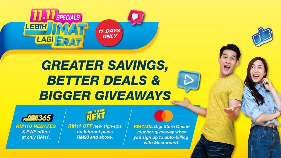 Digi 11.11 Online Offer