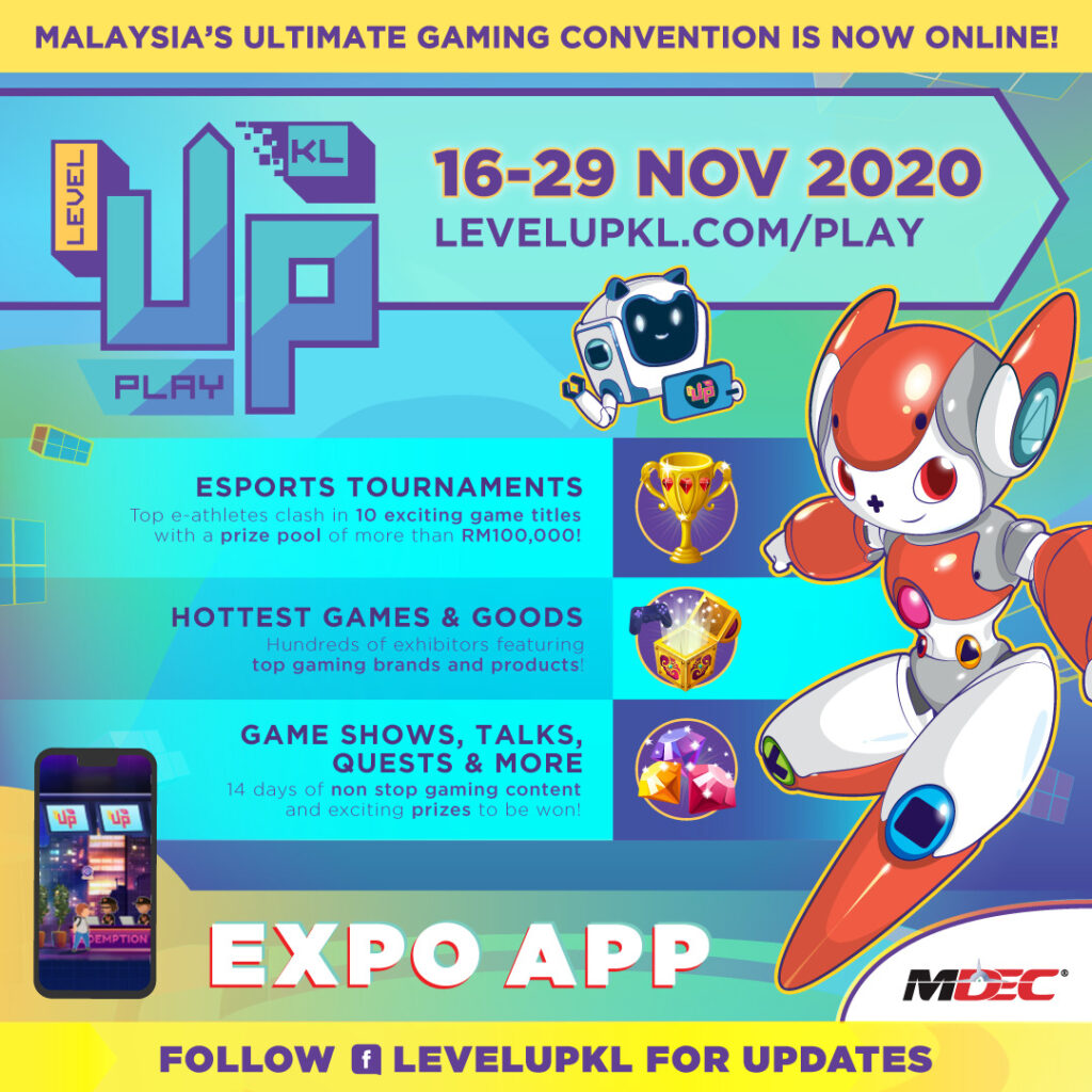 LEVEL UP KL 2020: PLAY DAY