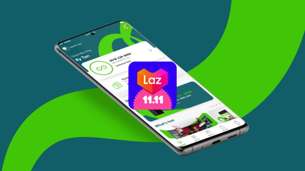Maxis Lazada 11.11