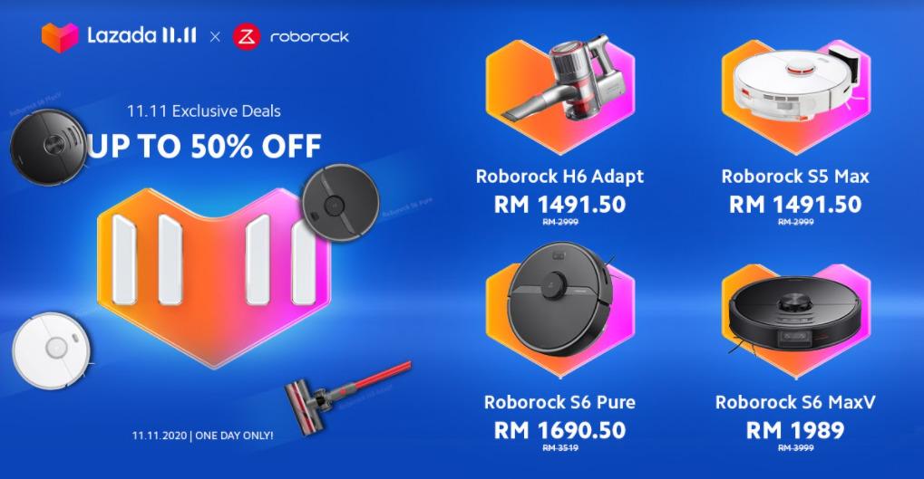 Roborock 11.11 Sale