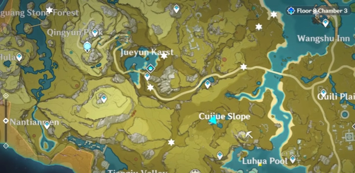 Hilichurl Wei Spawn Locations