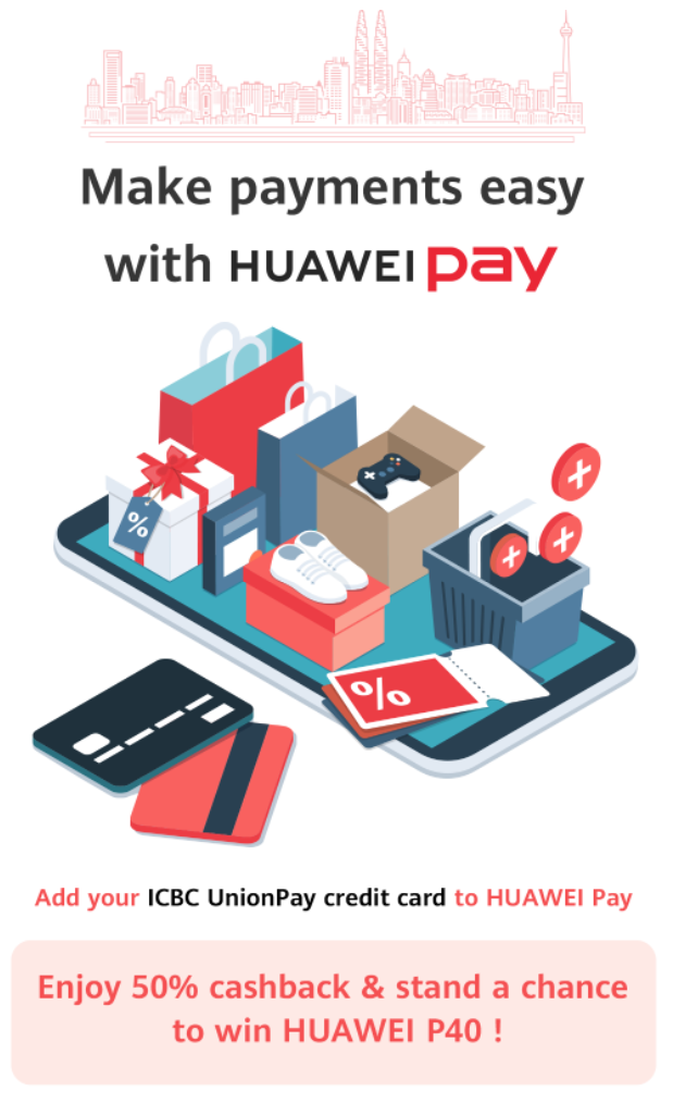 HUAWEI Pay announces arrival in Malaysia, partnering with UnionPay and ICBC! 11