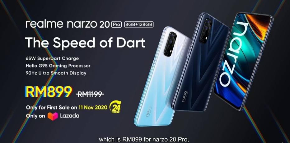 Get Up To Speed: realme narzo 20 Series 8