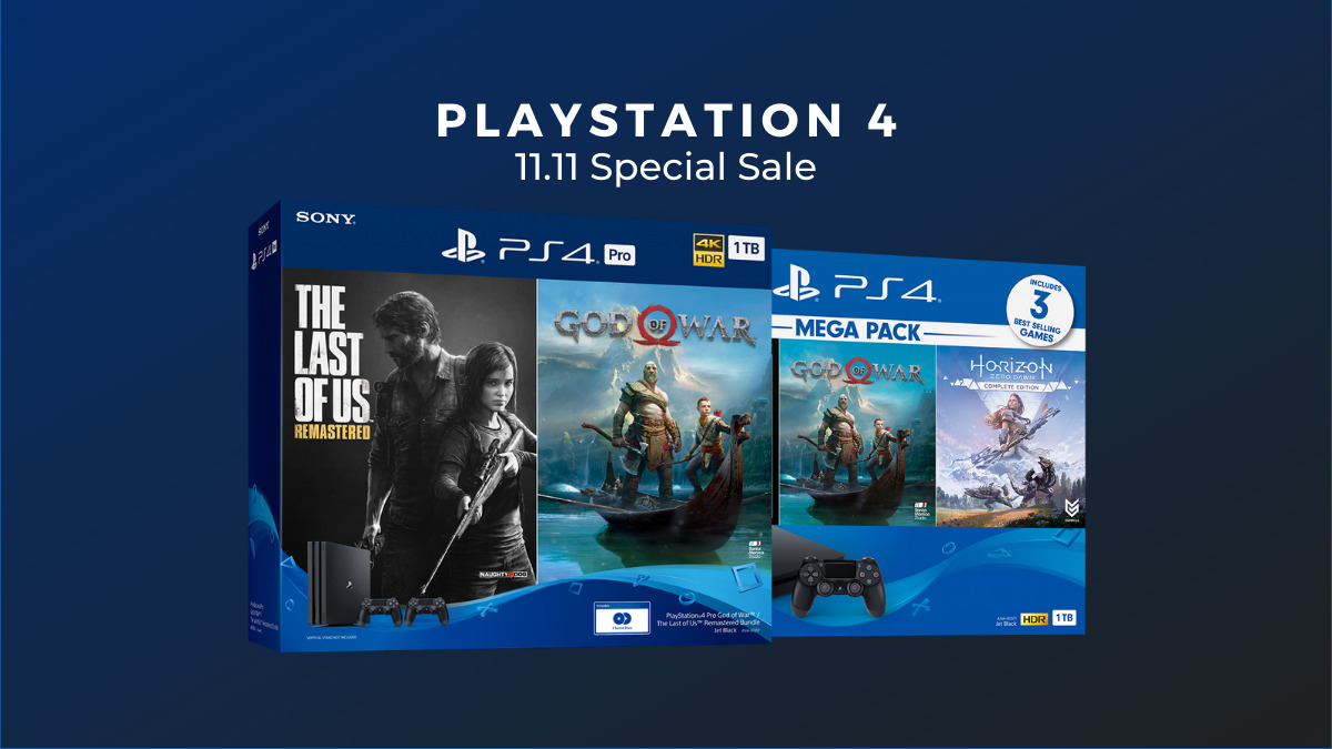 Playstation 11.11 Special Sale