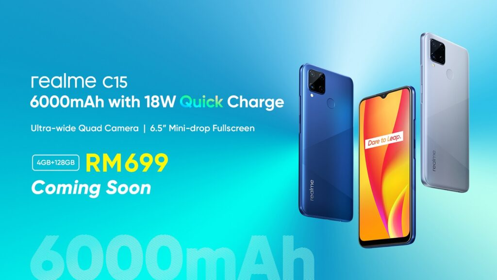 Realme C15 Arrives In Malaysia With 6,000mAh Battery And 18W Quick Charge; Priced From RM599 9