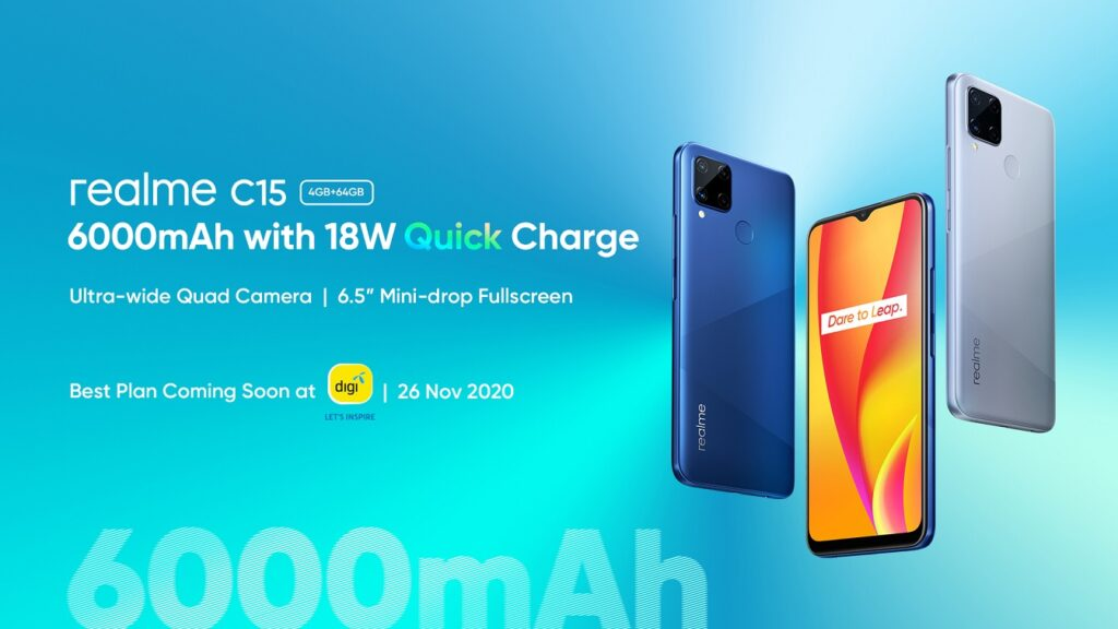 Realme C15 Arrives In Malaysia With 6,000mAh Battery And 18W Quick Charge; Priced From RM599 7