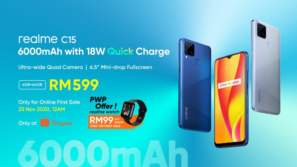 Realme C15 Arrives In Malaysia With 6,000mAh Battery And 18W Quick Charge; Priced From RM599 8
