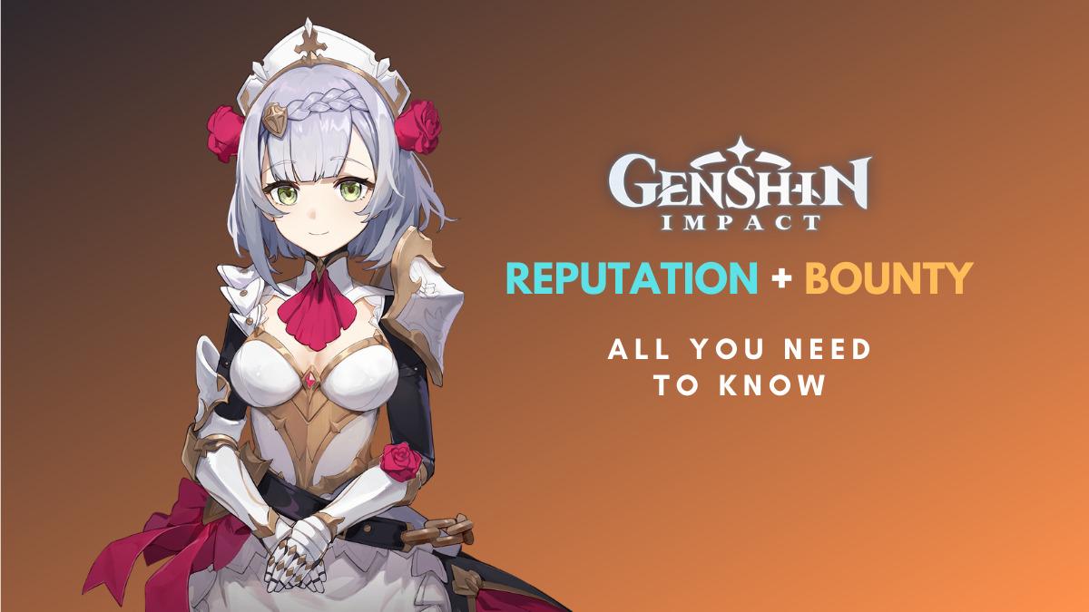 Genshin Impact Bounty