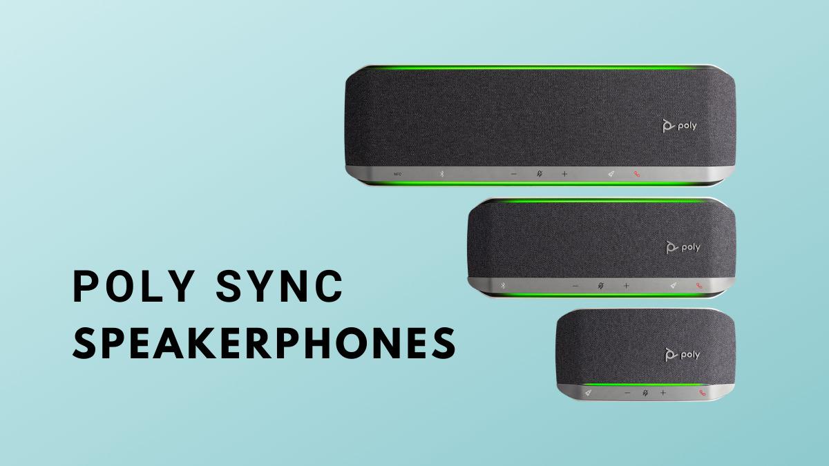 Poly Sync Series Speakerphones