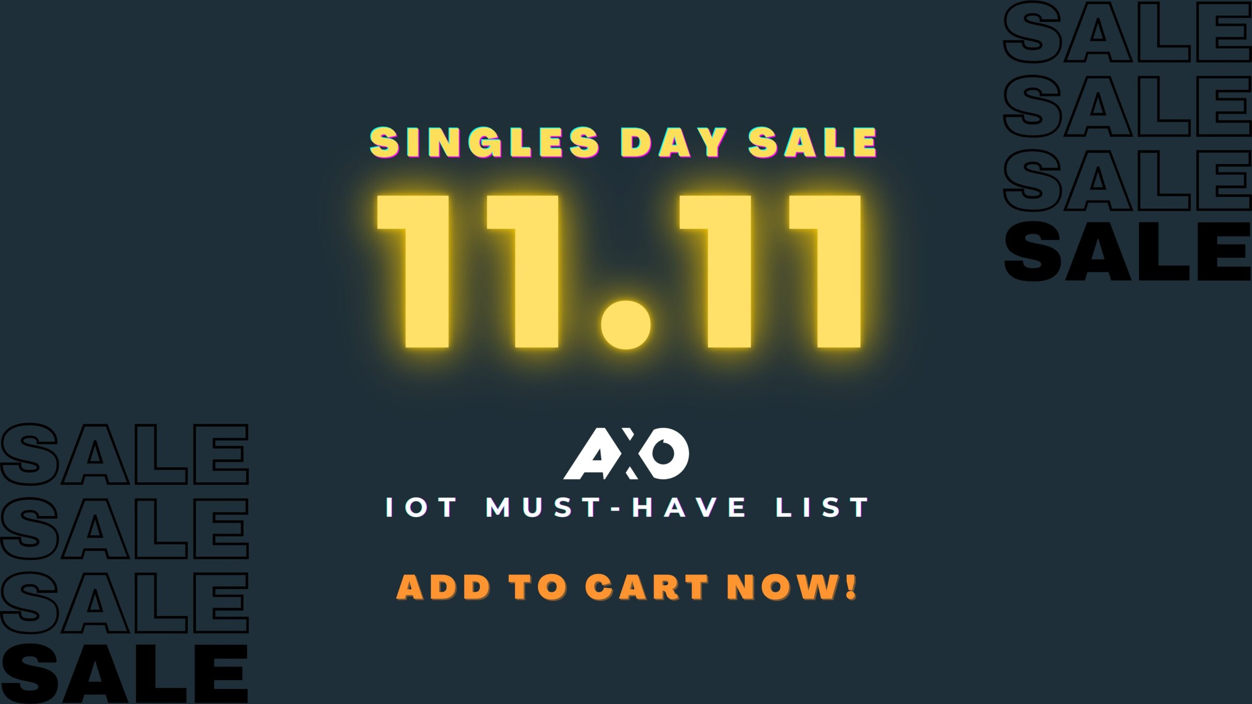[2020] IOT Worthy Grabs This 11.11 Singles Day sale on Lazada 2