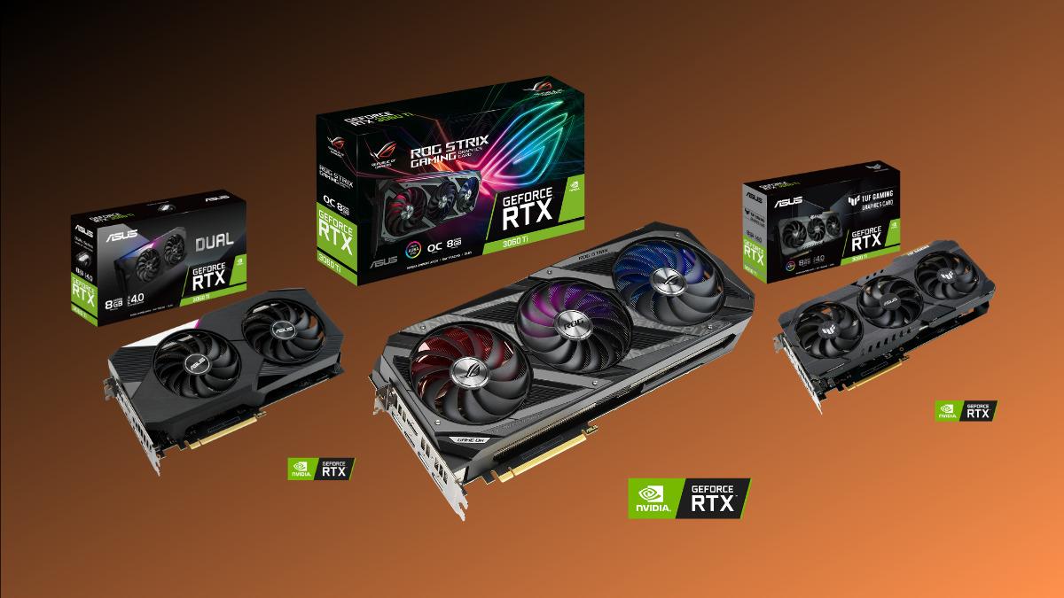 ASUS GeForce RTX 3060 Ti Series
