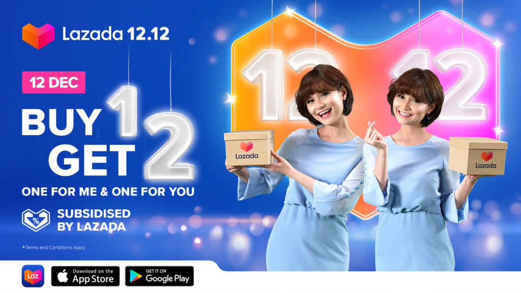 Lazada 12.12 Sales Gives Back With 'Buy 1, Get 2' Deals to Double Your Festive Haul 9