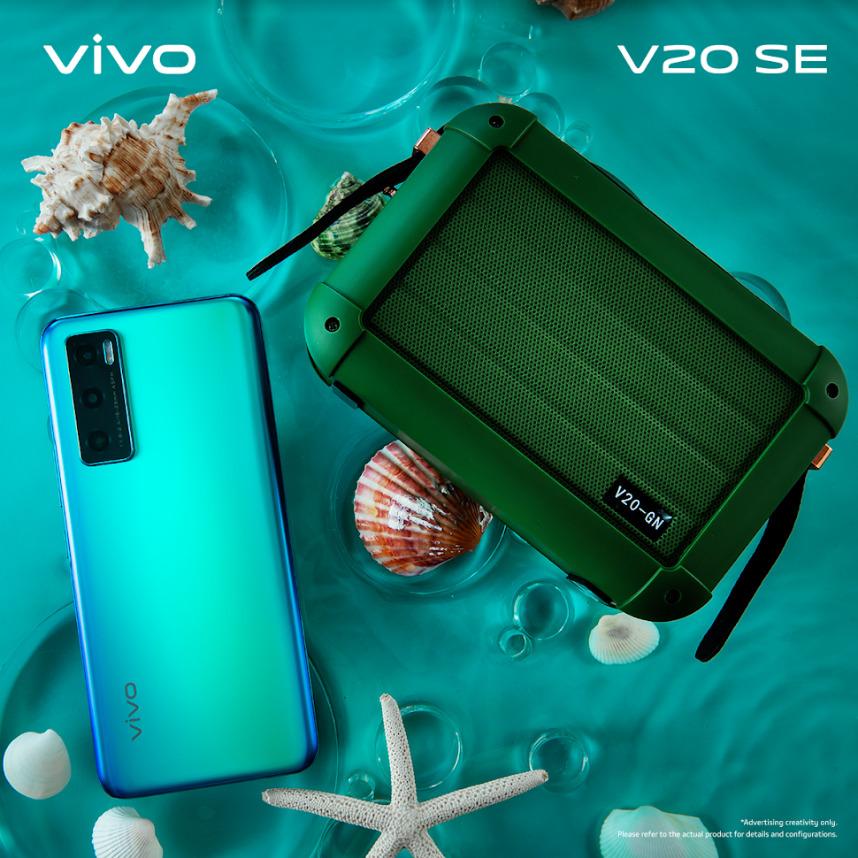 Vivo V20 SE Aquamarine