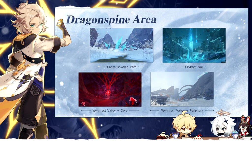 Genshin Impact 1.2 Update: Dragonspine Map, New Characters, New Events, And More 22