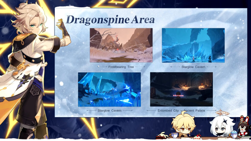 Genshin Impact 1.2 Update: Dragonspine Map, New Characters, New Events, And More 23