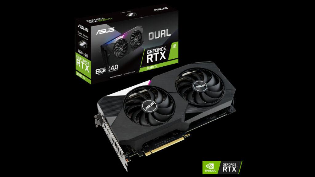 ASUS GeForce RTX 3060 Ti Series dual series