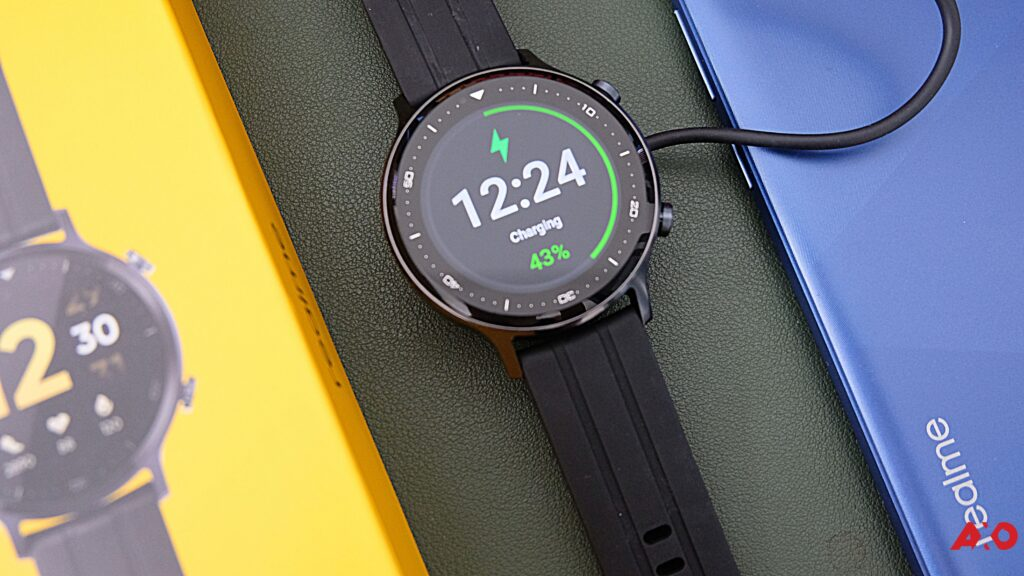 realme watch s charging