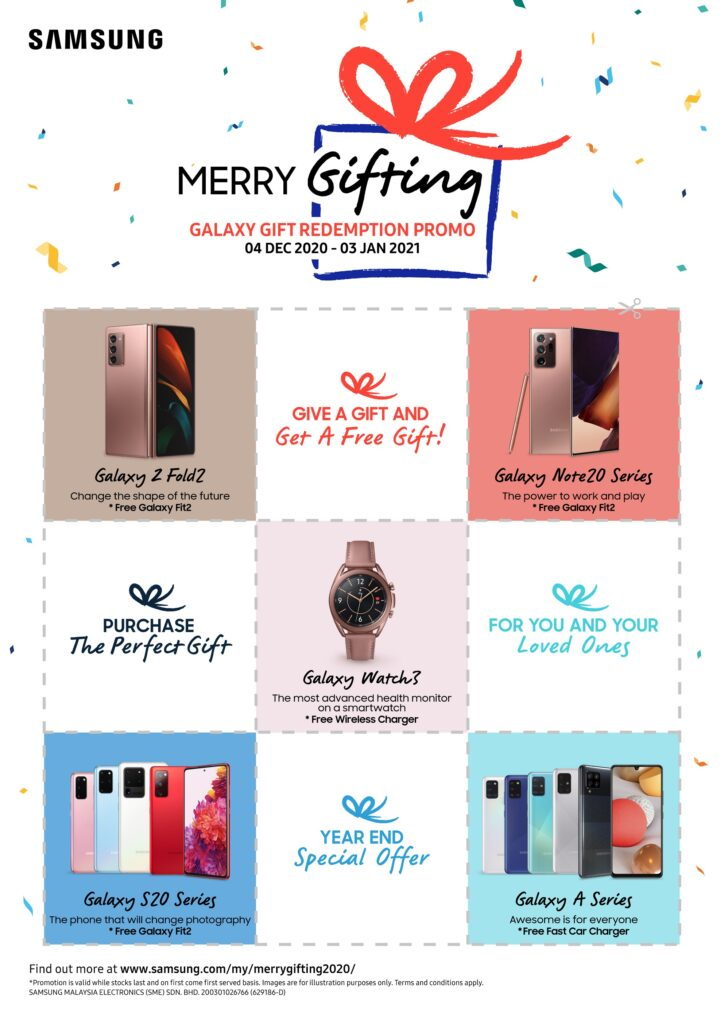 Samsung Merry Gifting Promotion
