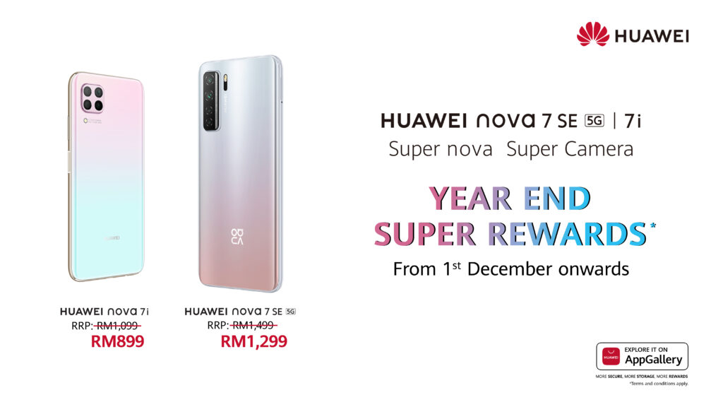 Huawei Nova 7i and 7 SE 5G Repriced From RM899 Onwards 17
