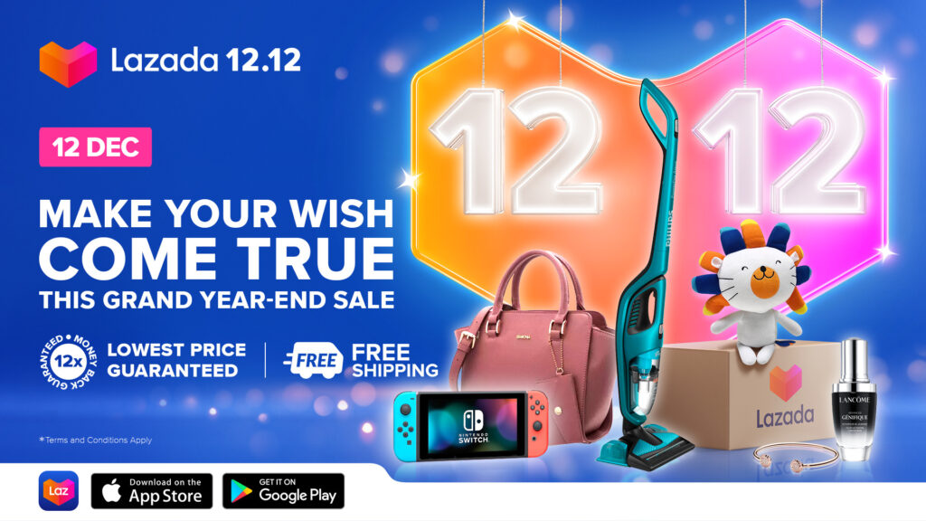 Lazada 12.12 Sales Gives Back With 'Buy 1, Get 2' Deals to Double Your Festive Haul 10