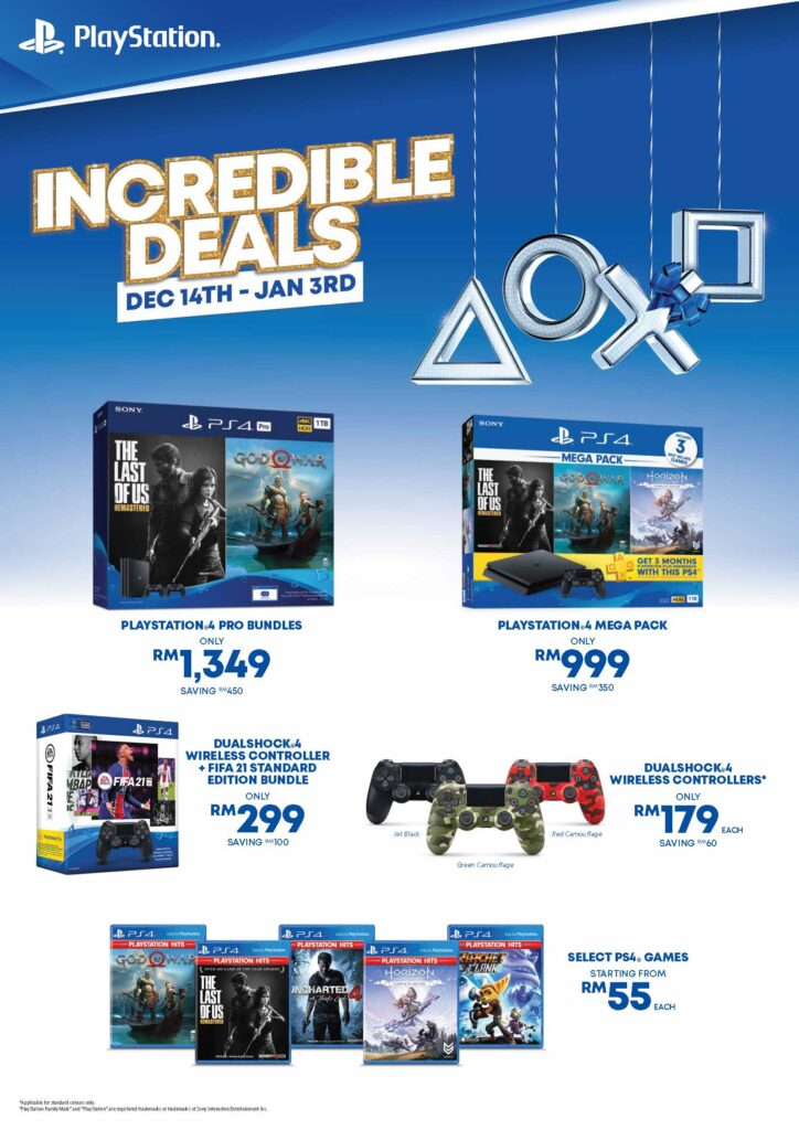 Sony PS4 Incredible Deals