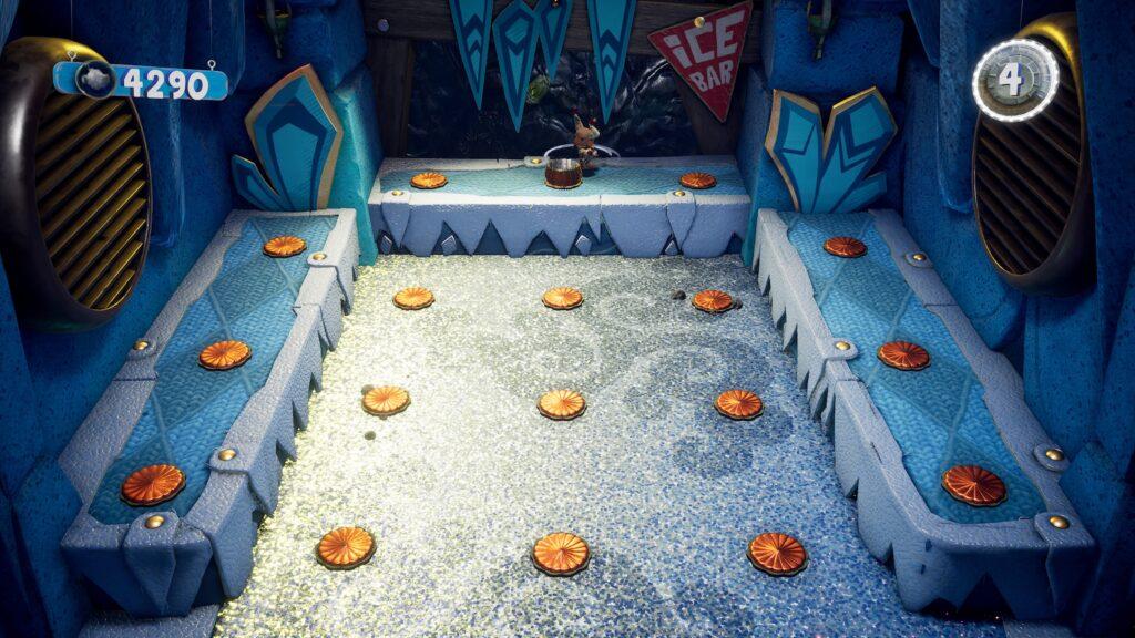 Sackboy:  A Big Adventure - mini game