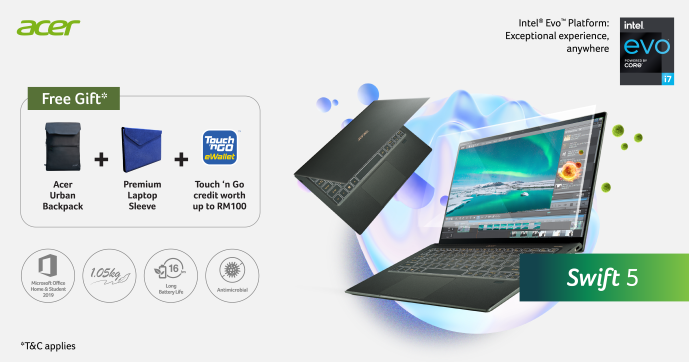 Acer Launches New Swift and TravelMate Series Laptops; Priced From RM2,699 7