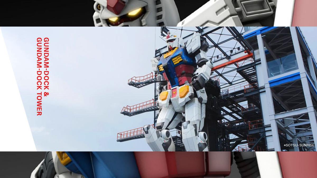 Gundam Factory Yokohama Life-Size Gundam RX-78