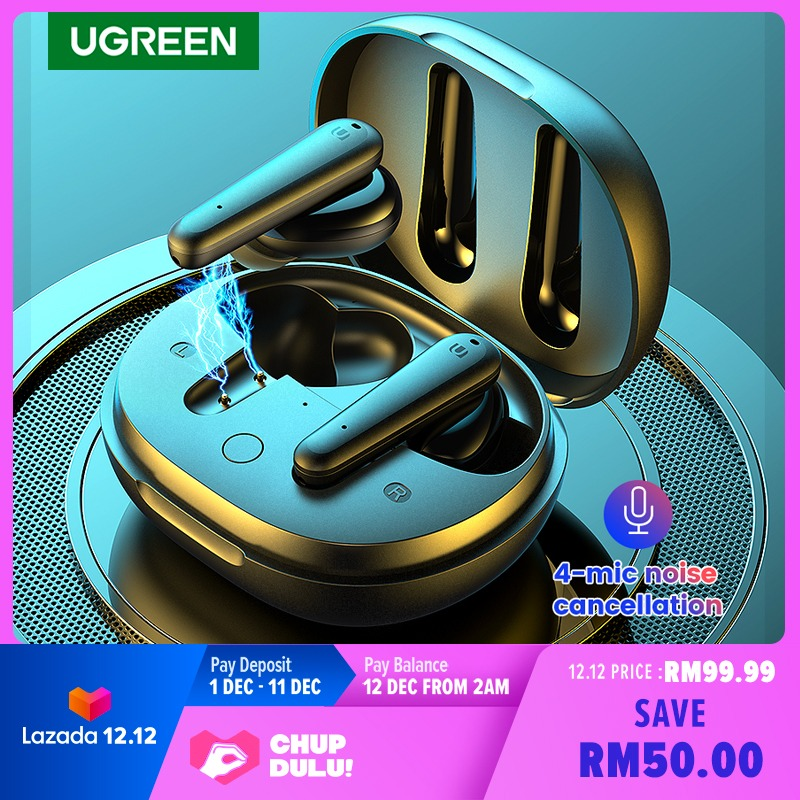 UGreen HiTune T1 TWS Earbuds Review: Powerful Bass Done Right 14