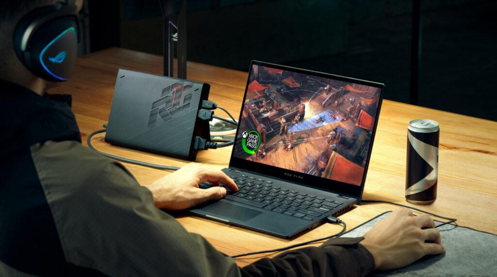 ROG Flow X13 Convertible Gaming Laptop Unveiled Alongside XG Mobile external GPU 12