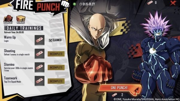 Free Fire x One Punch Man Crossover Event Is Now Officially Underway 16