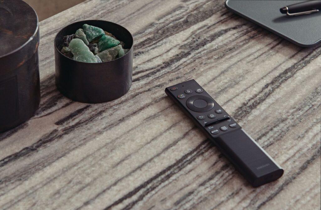 Samsung solar powered remote control