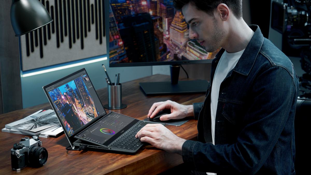 ASUS Announces Latest ZenBook Series and Tilting ScreenPad Plus at CES 2021 19