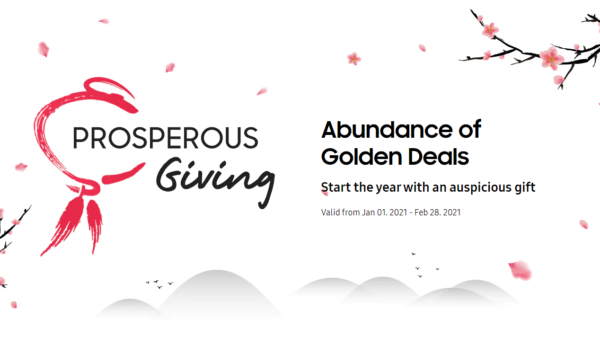Samsung Celebrates The New Year With Samsung Prosperous Giving 2021 2