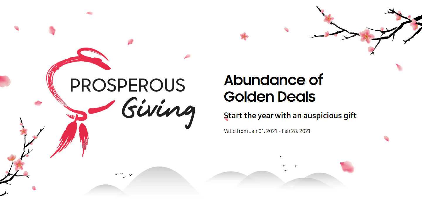 Samsung Celebrates The New Year With Samsung Prosperous Giving 2021 3