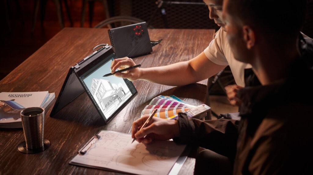 ROG Flow X13 Convertible Gaming Laptop Unveiled Alongside XG Mobile external GPU 11
