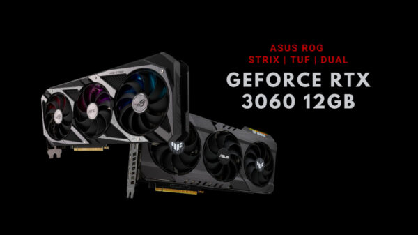 ASUS GeForce RTX 3060 12GB