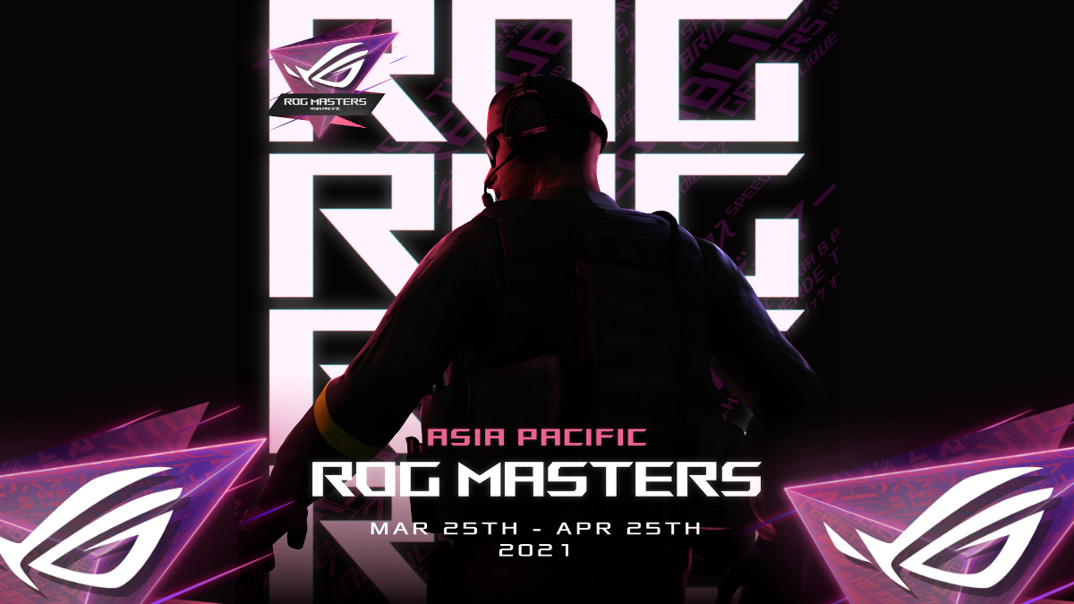 ASUS ROG Masters Asia Pacific Championship Announced; Registration opens 8th February 2021 7
