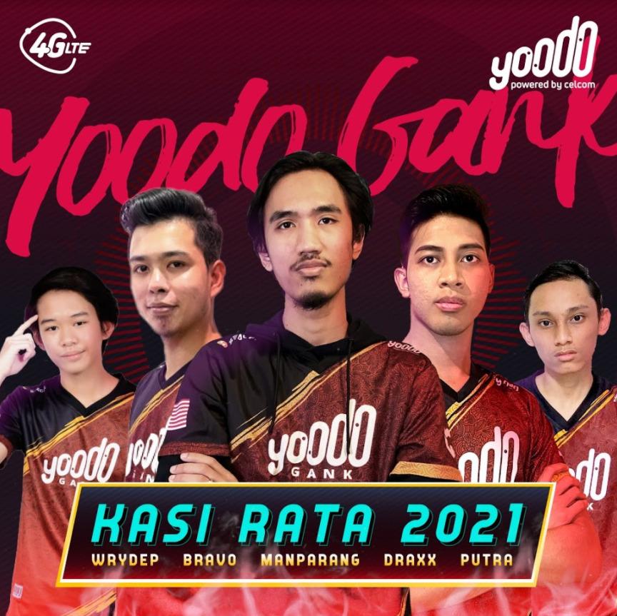 Yoodo Esports  Yoodo Gank 2021