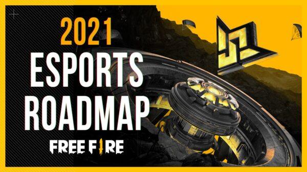 Garena Free Fire 2021 Esports Roadmap