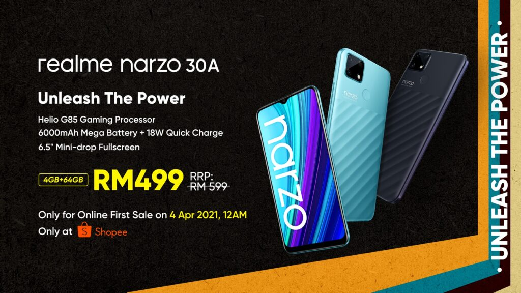 Realme Narzo 30A Unveiled With Three Gaming Accessories; Priced From RM499 14