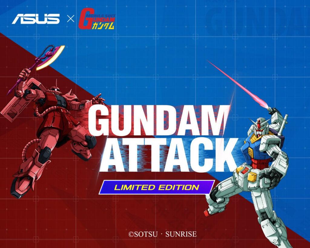 Asus x Bandai Gundam Gaming Components
