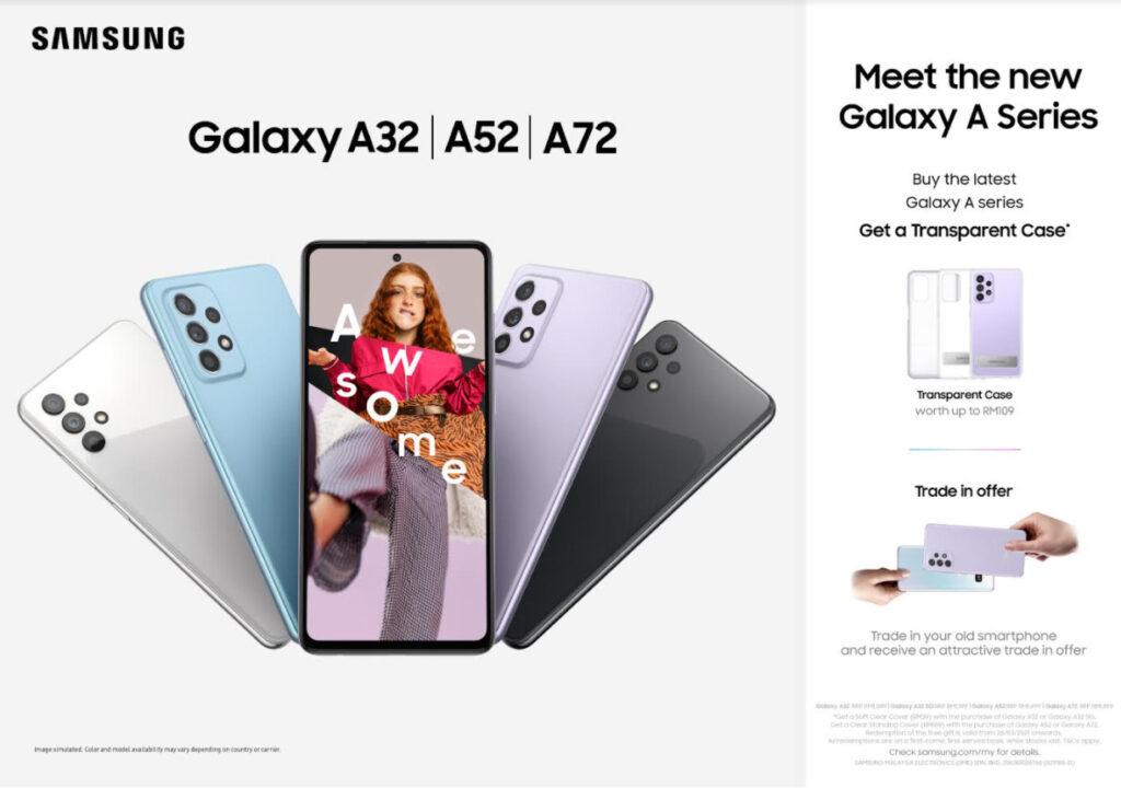 samsung Galaxy A72 Galaxy A52 Galaxy A32 5g Galaxy A32