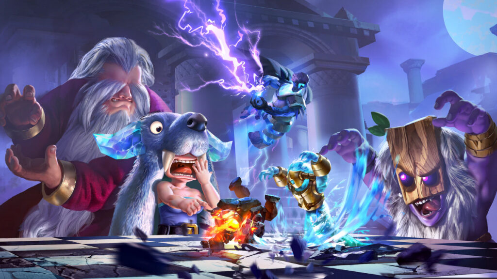 Auto Chess on PS5